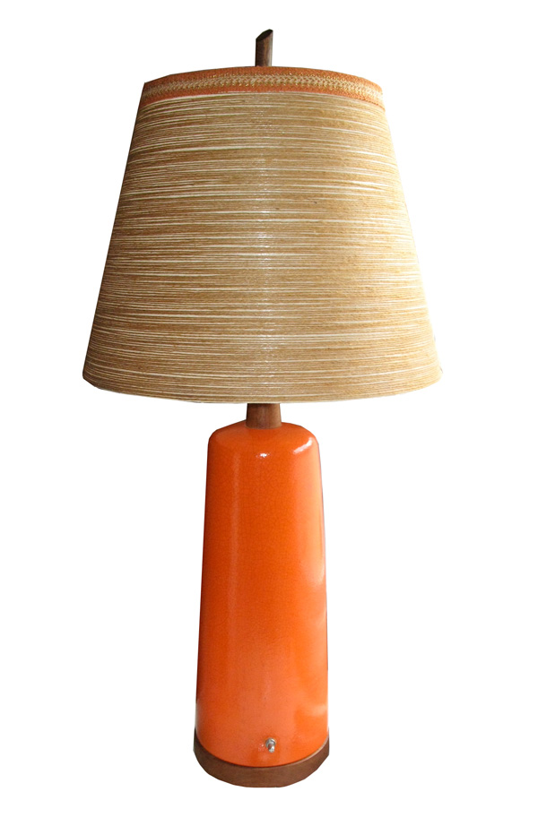 Supercozy Orange Table Lamp